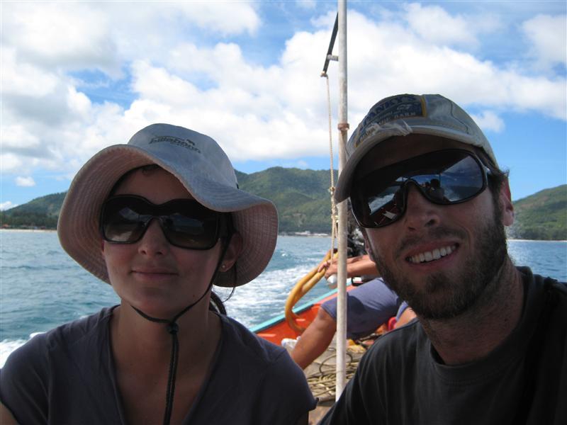 Longtail boat trip to Bottle Beach