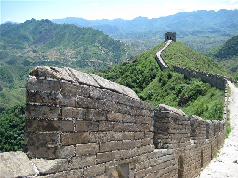 the Great Wall really is great