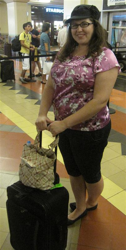 Waiting in Union Station
