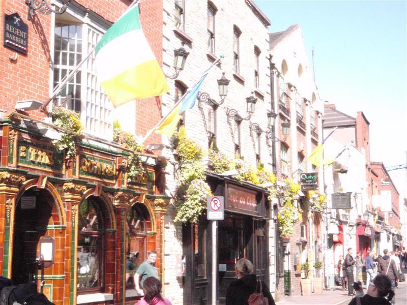 nice view of an irish street