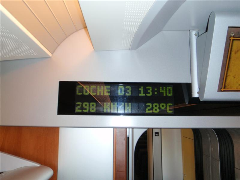 Train Ride to Malaga