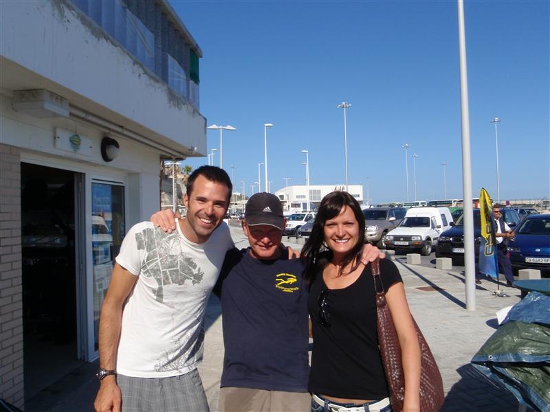 Chad, Sven and Ewa.