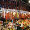 The market in Barcelona off of Las Ramblas