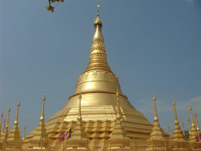 Chedi in Myanmar