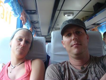 Auf dem Weg nach Aranyaprathet (vor Grenzuebergang)