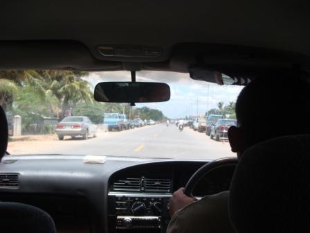 Auf dem Weg nach Siem Reap
