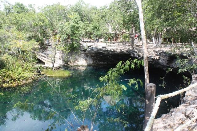 Jardin del eden cenote blogabond for Jardin del eden