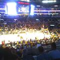 Laker's Play-Off game. GO LAKERS!