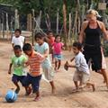 Playing Soccer with the Kids