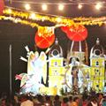Float of Virgin Mary