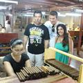 Wrapping the cigars