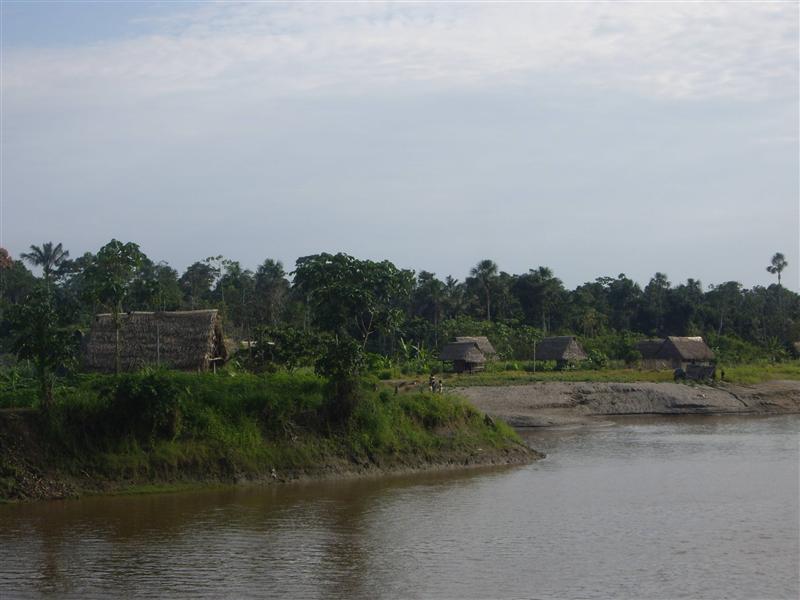 En el rio Marañon