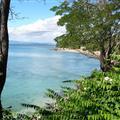 Relaxing sea shore