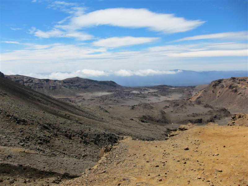 Photo from Tongariro National Park, New Zealand