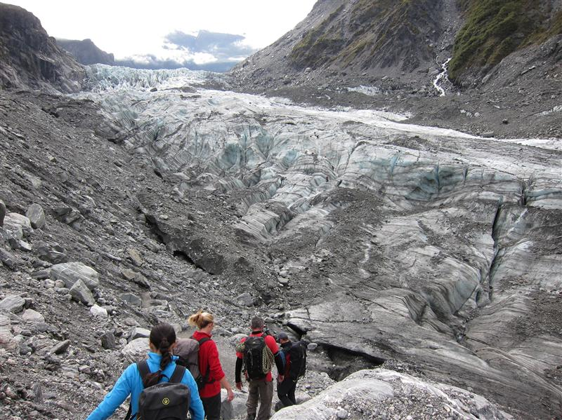 Photo from Fox Glacier, New Zealand