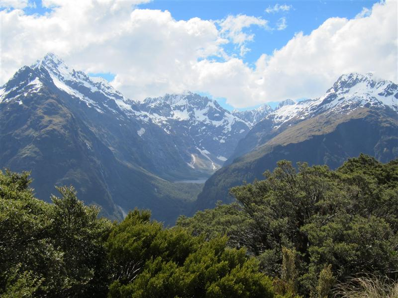 Atop Key Summit from Routeburn Track
