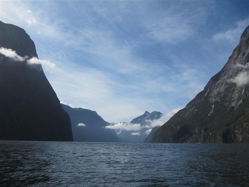 Photo from Milford Sound, New Zealand