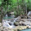 One of the mini-waterfalls at Erawan