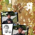 Swapbot scrapbook page
