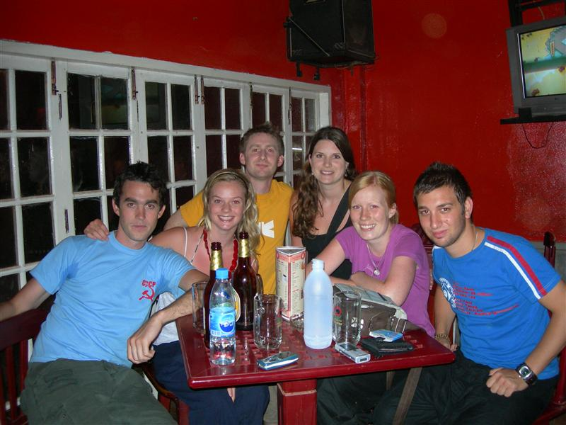 The gang where we first met in Vang Vieng!