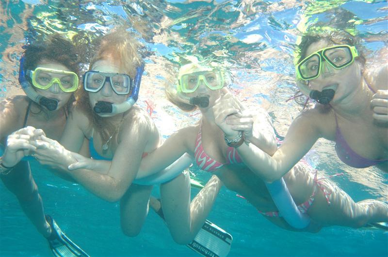 Some fun snorkelling