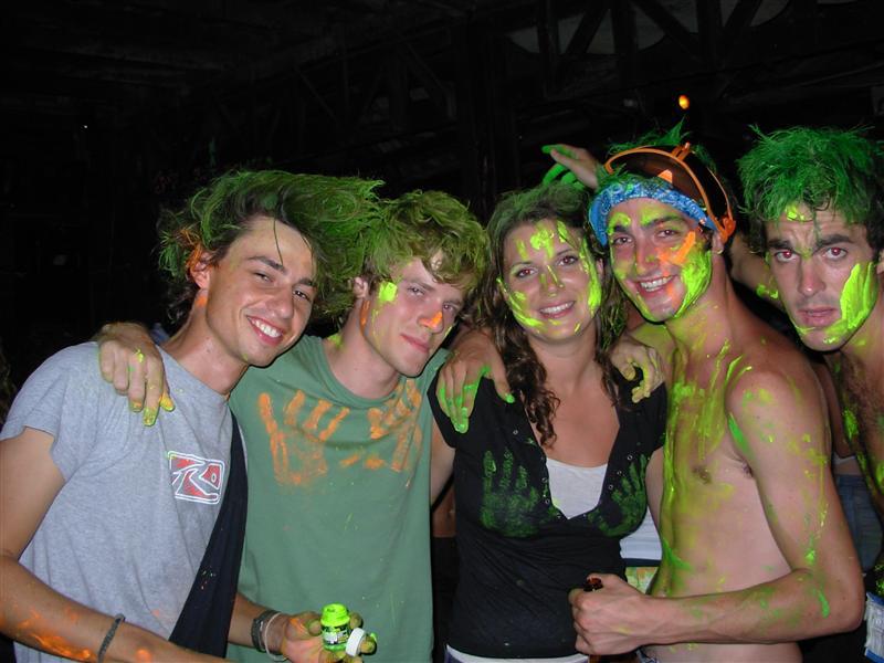 Erik, James, Murph, Millsy and Matt getting involved with UV