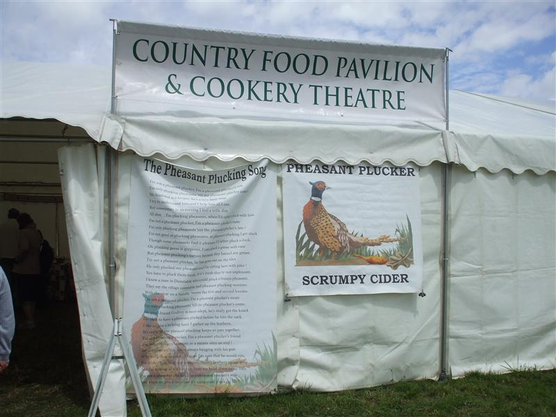 Pheasant Plucking and Scrumpy Cider