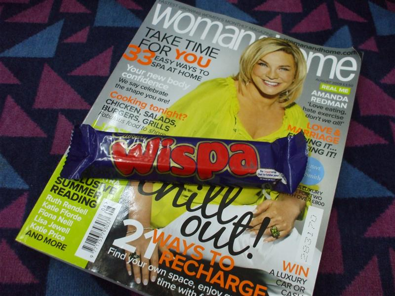 Wispa and a 'Zine For the Train Ride Home