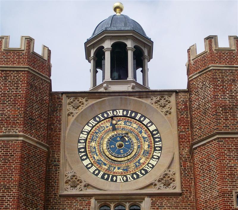 The Clock Court's Astrological Clock.