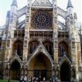 Westminster Abbey, front view.