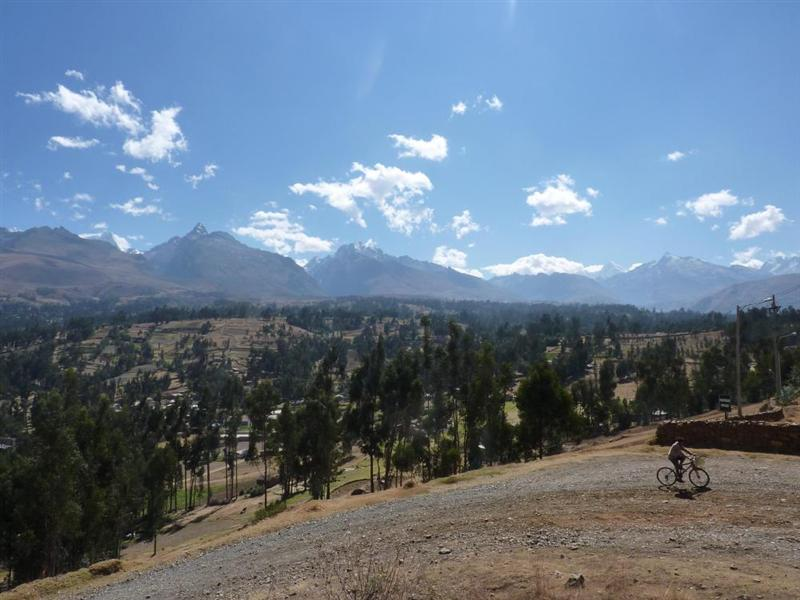 View during the trek in Huaraz