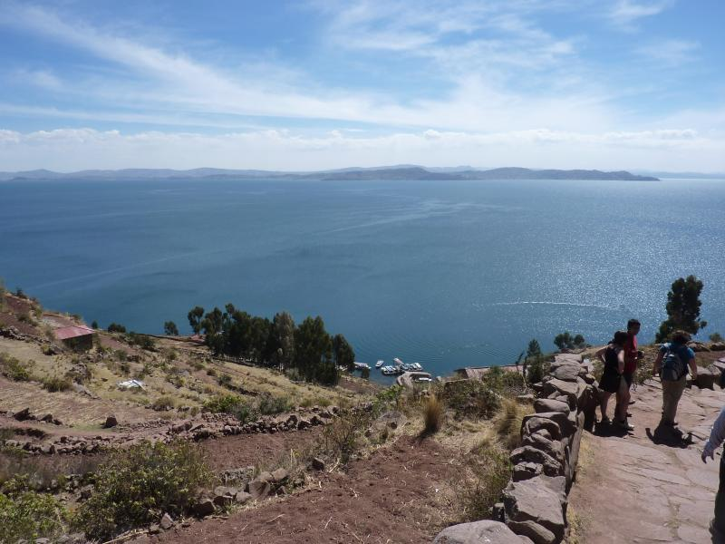 View from island near Puno