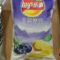 Blueberry potato chips.  We haven't tried them yet, but we're very curious!