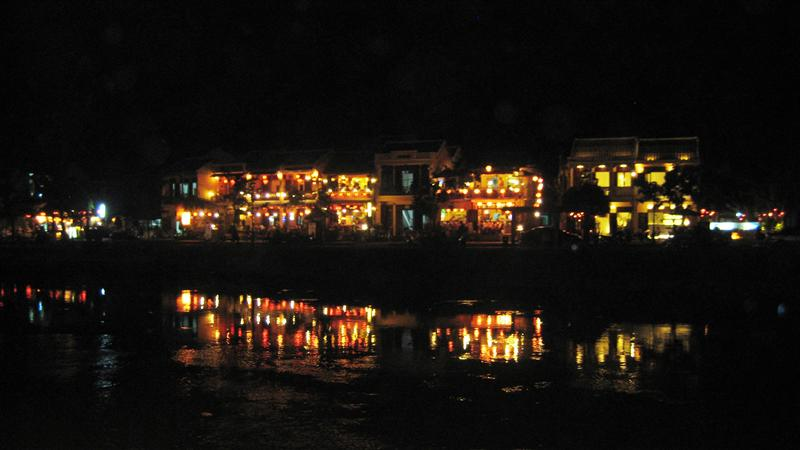 View in the ancient town of Hoi An
