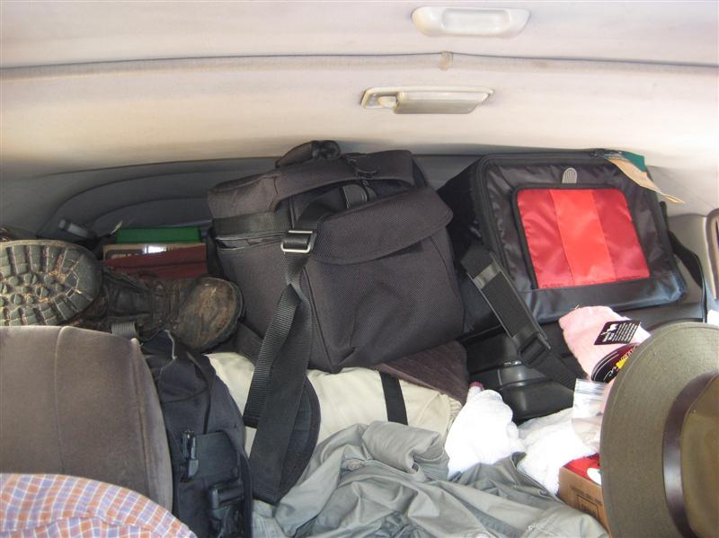 Car is PACKED!