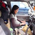 Blogging in the car
