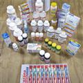 medicine + 150 toothbrushes