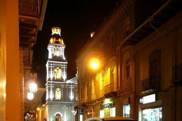 Cuenca nightlights