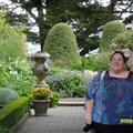 garden at castle