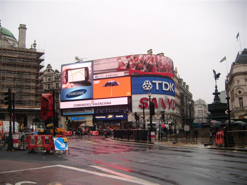 Piccadily Circus...used in many films..