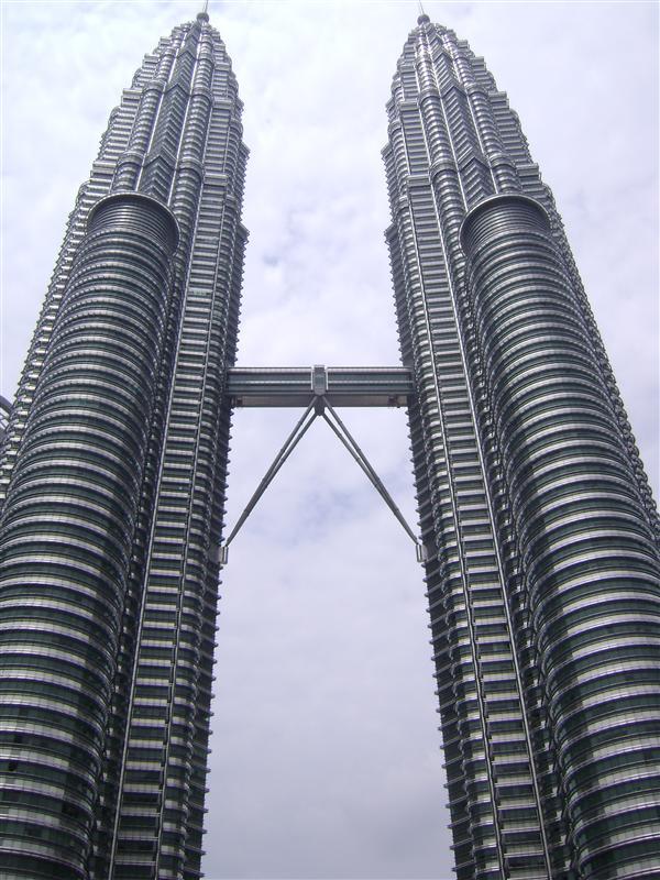 the petronas towers...amazingly huge