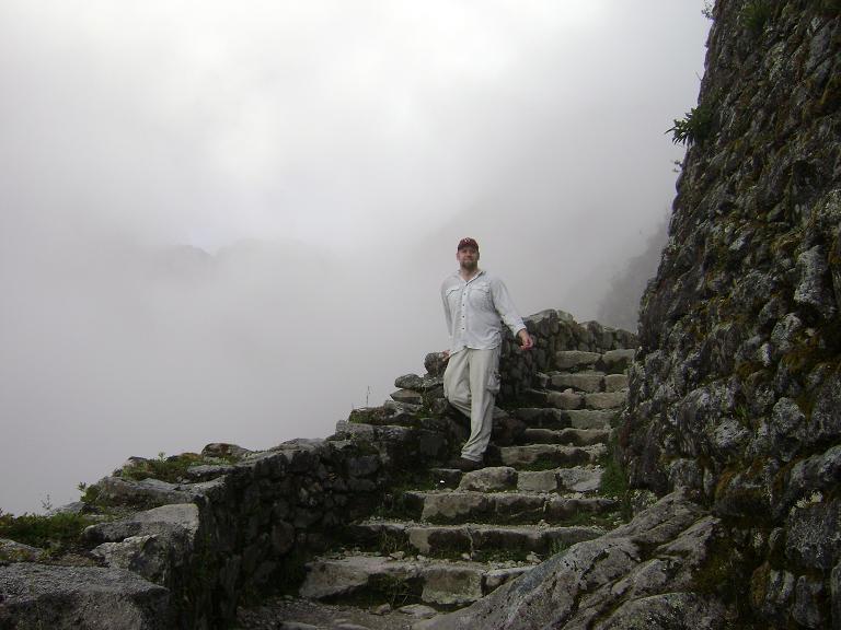 Staircase at Sayamarka