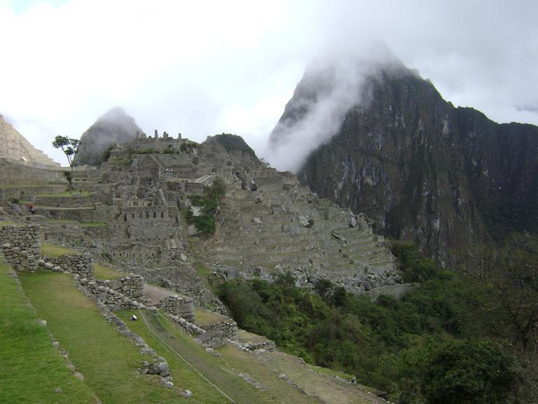 Clearing over Machu Picchu