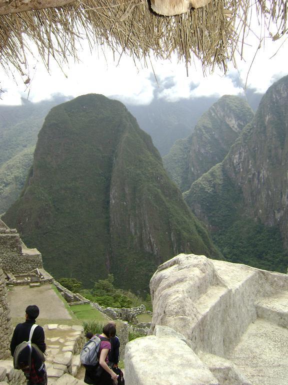 Surrounding hills around Machu Picchu