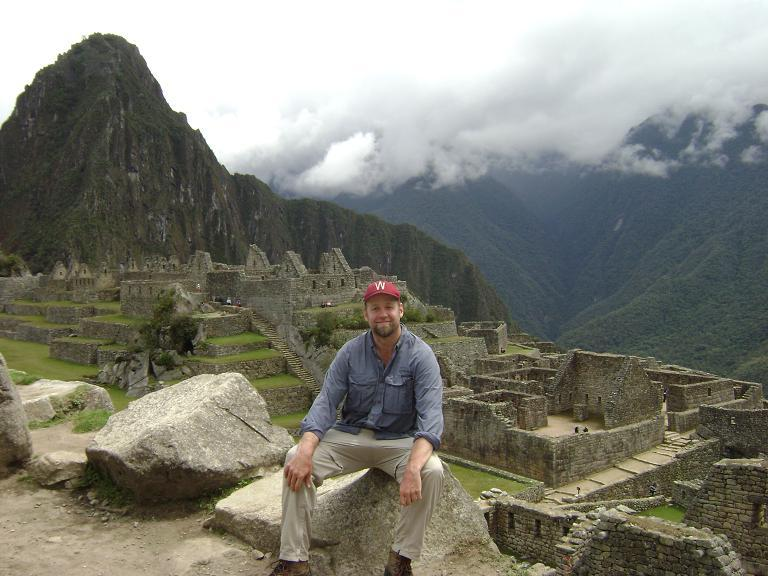 Paul over Machu Picchu