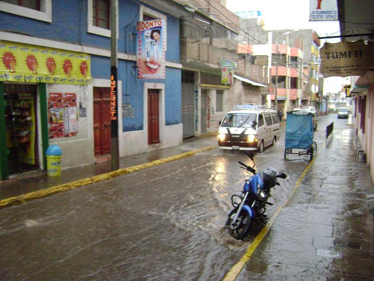 Downpour in Puno