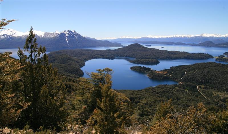 Picture perfect view of Lago Nahuel Huapi