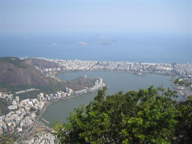 Ipanema from above