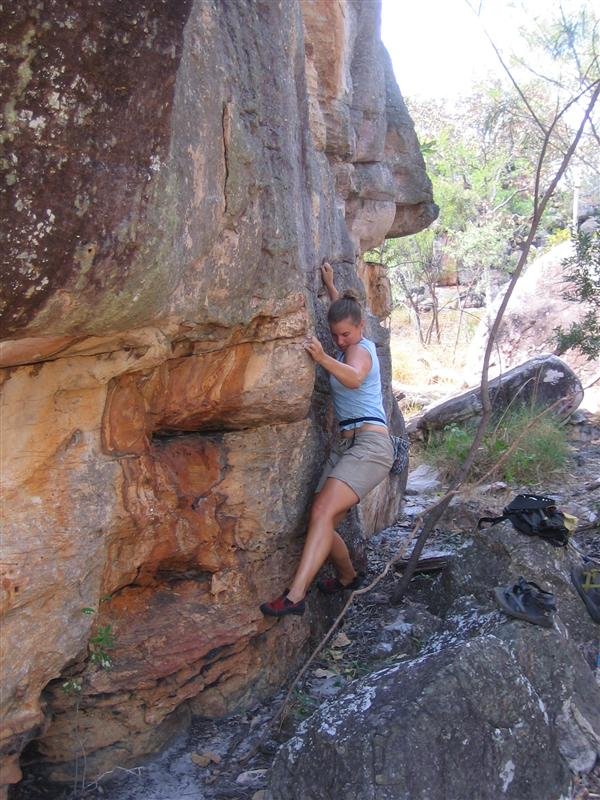 Joc on The Dusty Mutt Traverse, V1