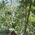 ziplining in Koh Samui